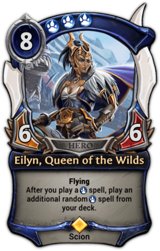 Eilyn, Queen of the Wilds card
