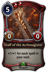Staff of the Archmagister