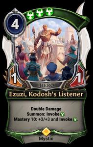 Ezuzi, Kodosh's Listener