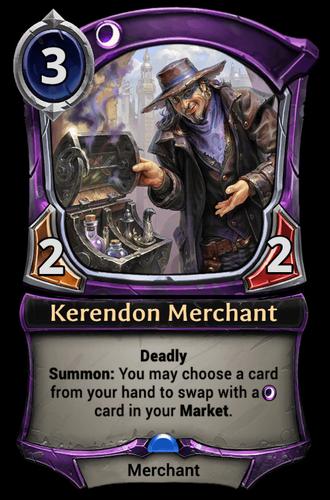 Kerendon Merchant card