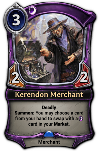 Kerendon Merchant card