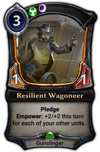 Resilient Wagoneer card