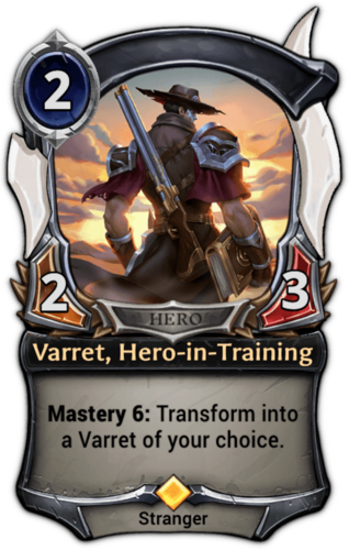 Varret, Hero-in-Training card