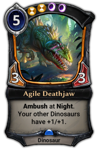 Agile Deathjaw card