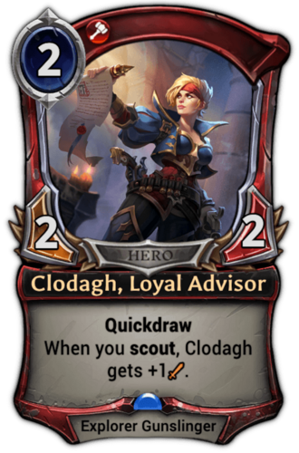 Clodagh, Loyal Advisor card
