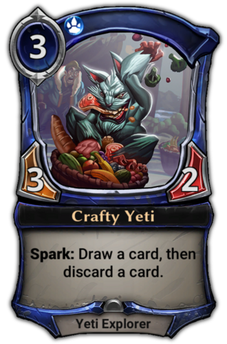 Crafty Yeti card