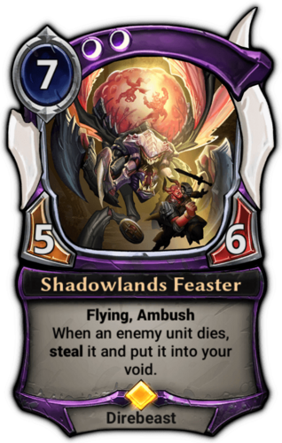Shadowlands Feaster card