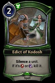 Edict of Kodosh