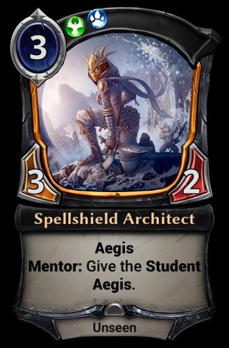 Spellshield Architect card