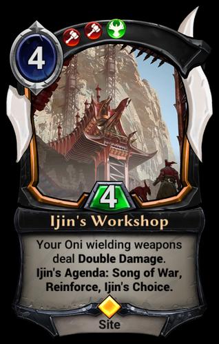 Ijin's Workshop card