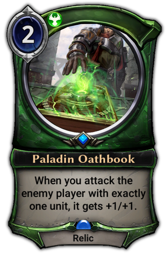 Paladin Oathbook card