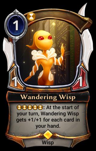 Wandering Wisp card