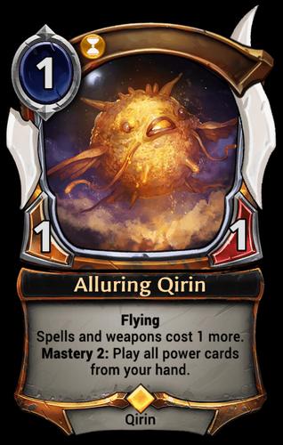 Alluring Qirin card