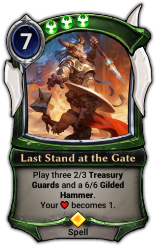 Last Stand at the Gate card