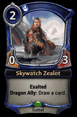 Skywatch Zealot card