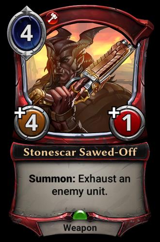 Stonescar Sawed-Off card