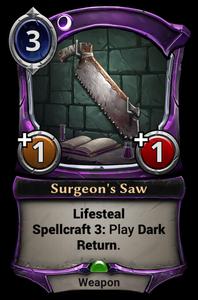 Surgeon's Saw