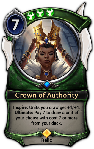 Crown of Authority card