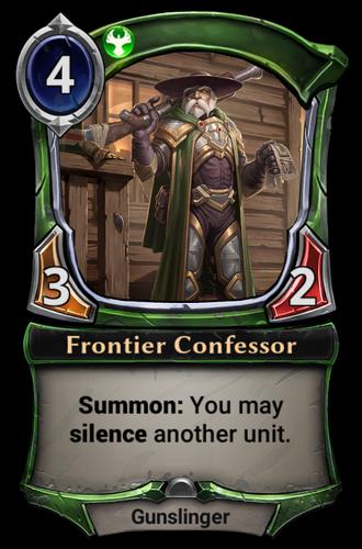 Frontier Confessor card