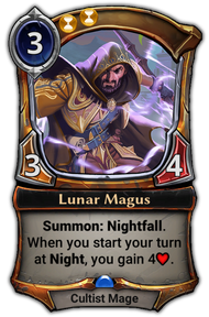Patch 1.28.7 version of Lunar Magus.
