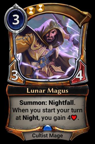 Lunar Magus card