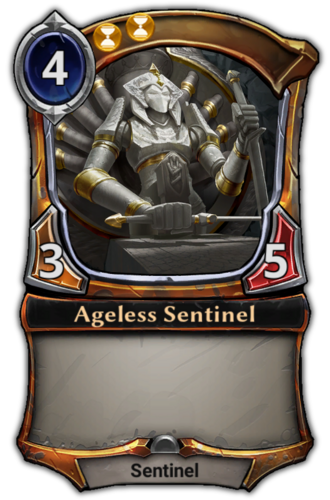 Ageless Sentinel card
