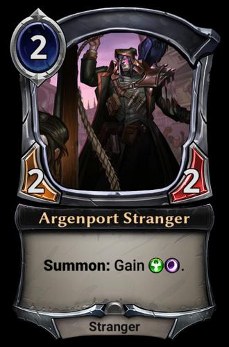 Argenport Stranger card