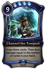 Channel the Tempest