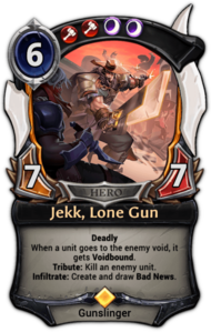 Jekk, Lone Gun
