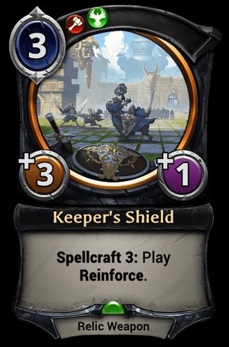 Keeper's Shield card