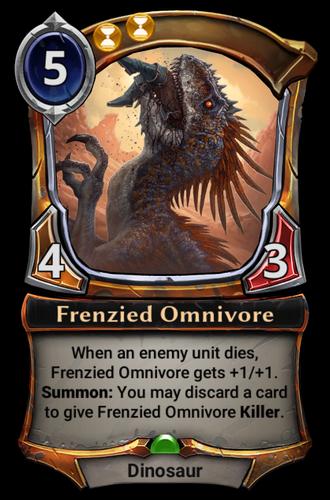 Frenzied Omnivore card