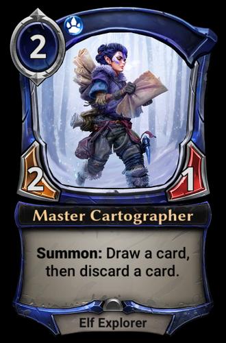 Master Cartographer card