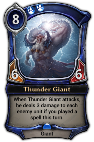 Thunder Giant card
