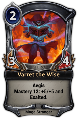 Varret the Wise card