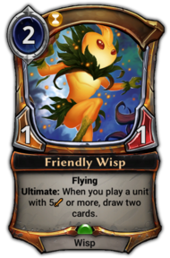 Friendly Wisp