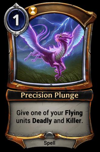 Precision Plunge card