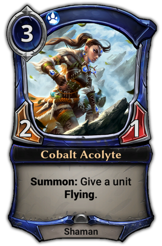 Cobalt Acolyte card