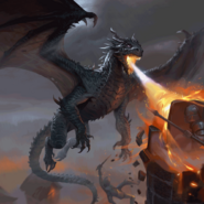 Full Art - Raging Firemaw