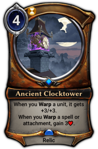 Ancient Clocktower card