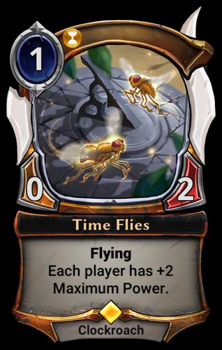 Time Flies card