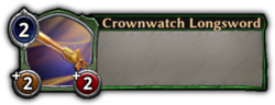 Crownwatch Longsword Token