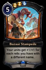 Bazaar Stampede