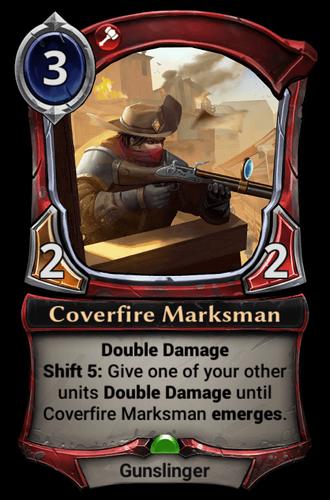 Coverfire Marksman card