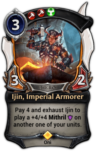 Ijin, Imperial Armorer card
