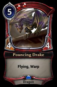 Pouncing Drake