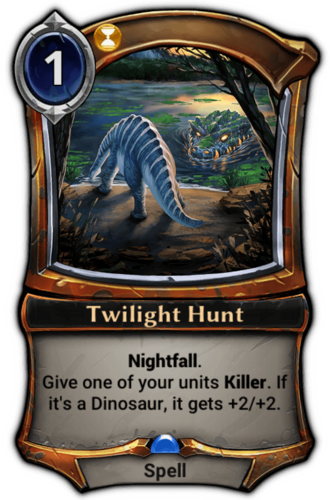 Twilight Hunt card