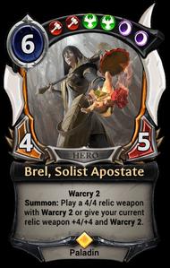 Brel, Solist Apostate