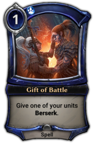 Gift of Battle