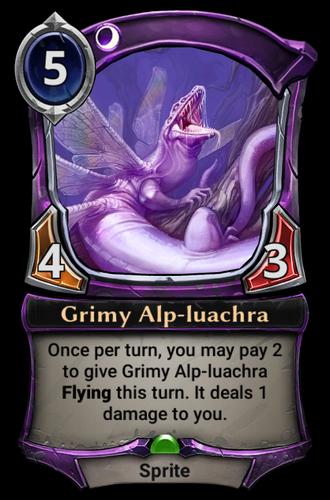 Grimy Alp-luachra card