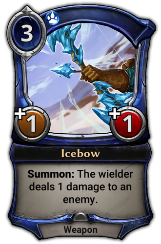 Icebow card